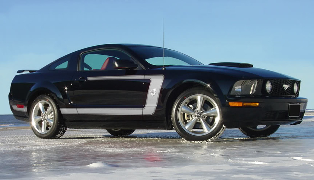 05-09 Ford Mustang Fastback 1 Graphic Kit