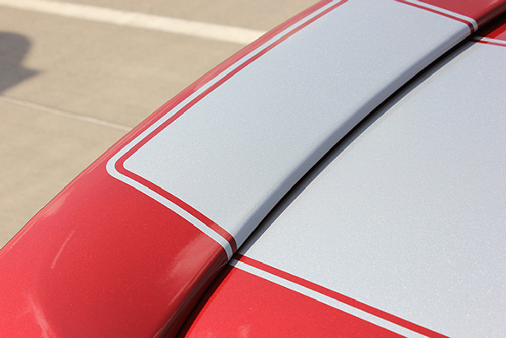 14-15 Chevy Camaro SS Graphic Kit Deck Lid Close Up