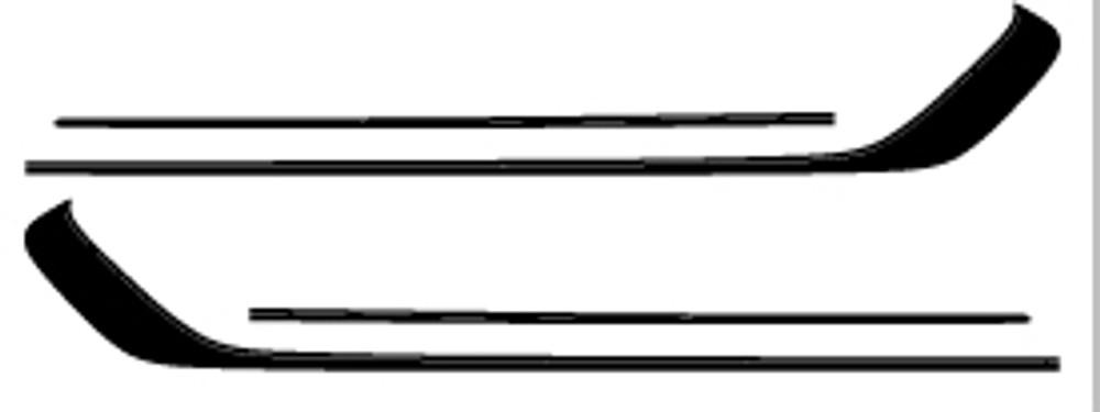 13-15 Ford Escape Runaround Graphic Kit Diagram(Left & Right Side)