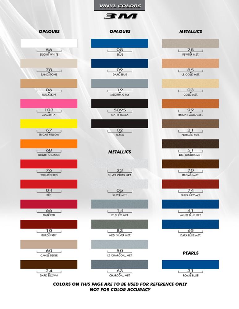 2015- 2017 Ford Mustang Hood Side Spears Vinyl Stripes