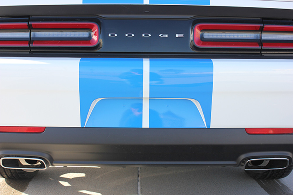 2015-2017 Challenge Rally Racing Stripes for Dodge Challenger