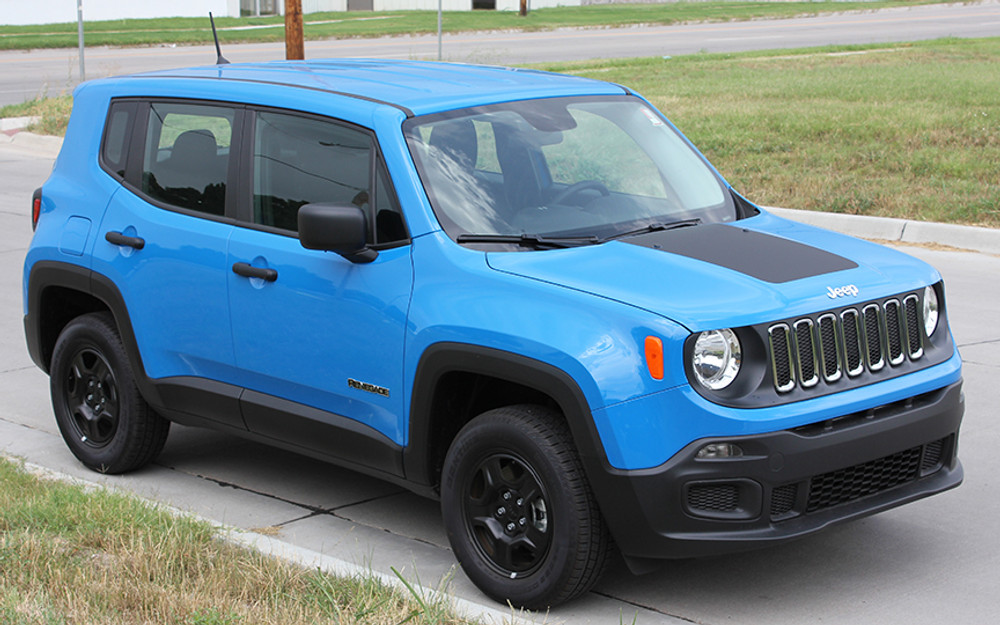 2014-2017 Jeep Renegade Hood Graphic
