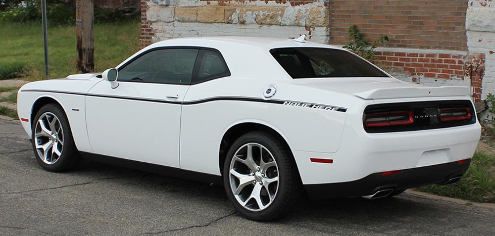 Dodge Challenger SXT Side Stripe Kit Side