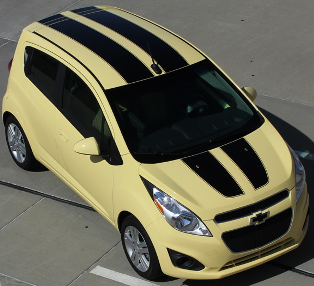 2013 2014 2015 Chevy Spark Racing Stripes