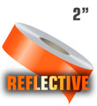 """2"""" X 50' Reflective Solid Stripe Roll"""