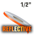 """1/2"""" X 150' Reflective Solid Stripe Roll"""