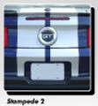 Stampede 2 Racing Stripes for 2010, 2011, 2012 Ford Mustang