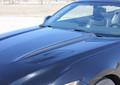 2015 2016 2017 Ford Mustang Hood Side Spears Vinyl Stripes Front
