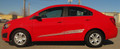 2012-2017 Chevy Sonic Boom Graphic Kit