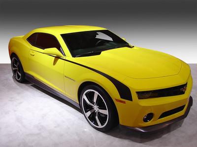 2009-2013 Chevrolet Camaro Throwback Hockey Stripe Kit