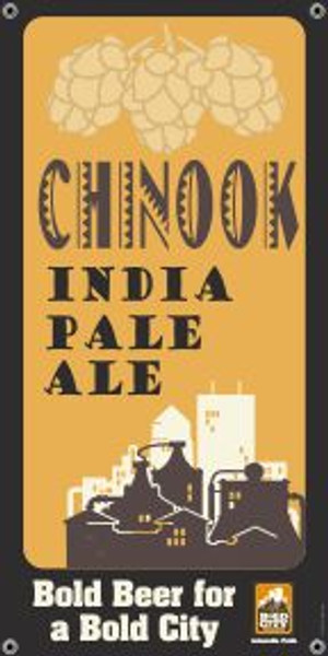 "Bold City Brewery 18.5"" X 36"" Chinook IPA Banner"