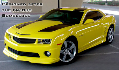 09-13 Chevrolet Camaro Bee 2 Racing Stripes Graphic Kit