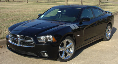 11-14 Dodge Charger Double Bar Stripe Graphic Kit
