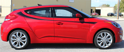 2011-2017 Hyundai Veloster Relay Graphic Kit