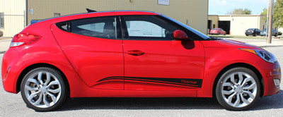 2011-2017 Hyundai Veloster Strike Graphic Kit