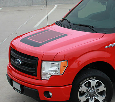 2009-2017 Quake F-150 Hood Graphic