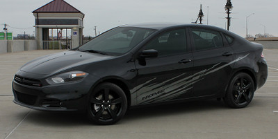 2013-2017 Dodge Dart Ripped Graphic Kit