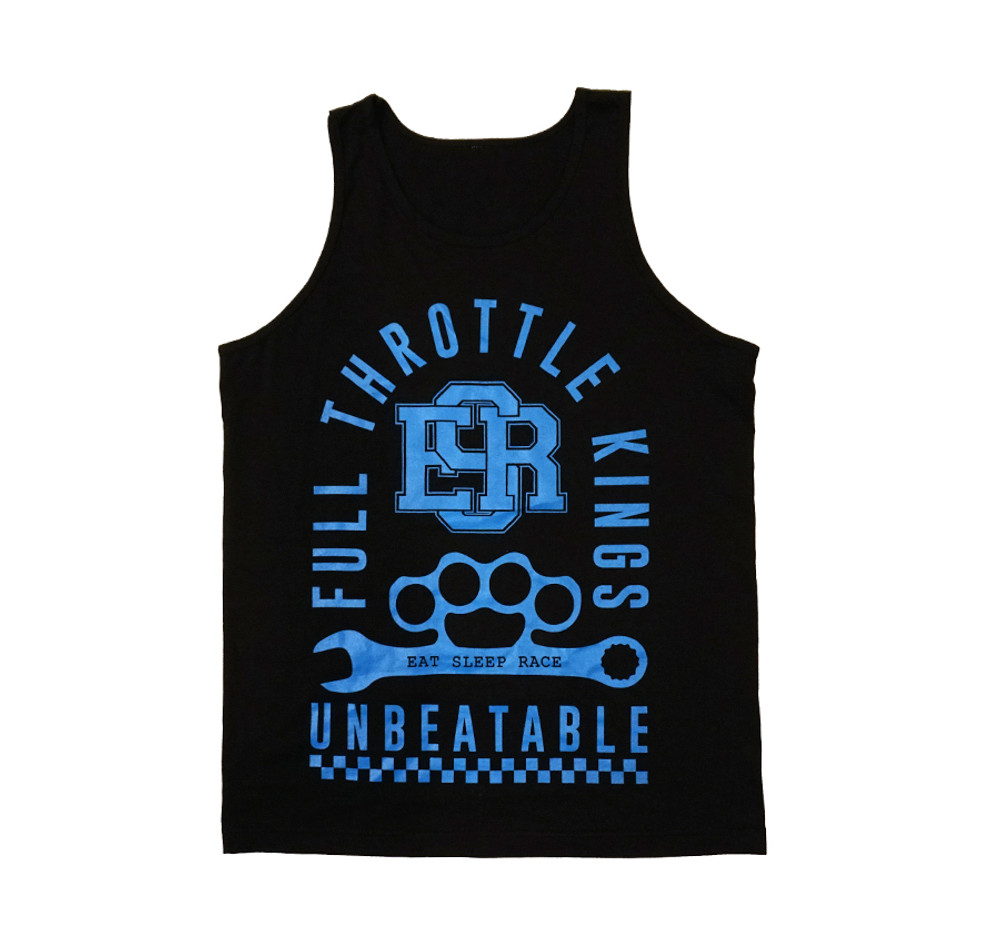 Full Throttle Kings Tank Top | Black