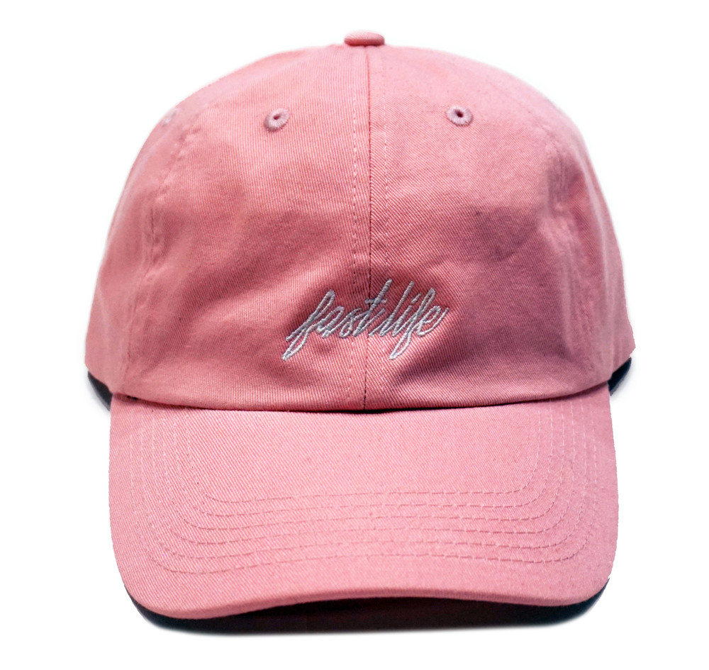 Fastlife Sport Strapback Hat | Pink