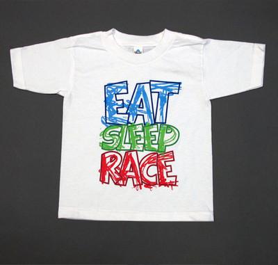 Kids Scribble T-Shirt | White