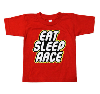 Kids Fast Bubble T-Shirt | Red