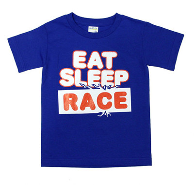 Kids Snacks T-Shirt | Blue