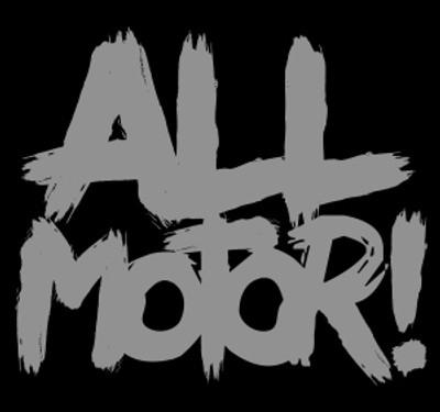 All Motor Vinyl Decal   Silver
