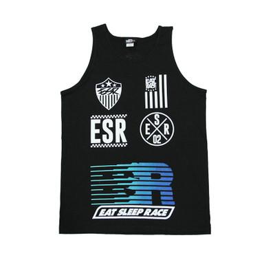 Sponsor Fade Tank Top | Black