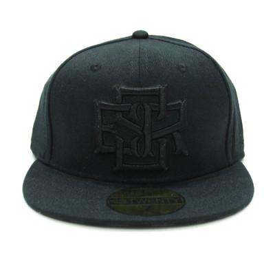 ESR Stack Fitted Hat | Black-Black