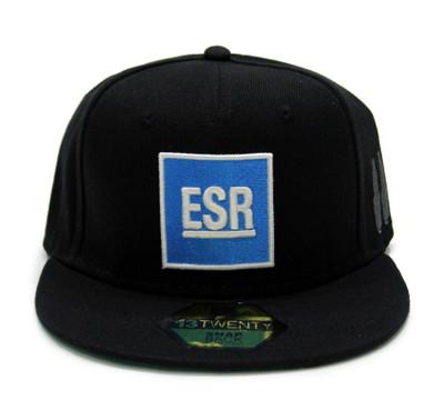 ESR Square Snapback Hat | Black/Blue