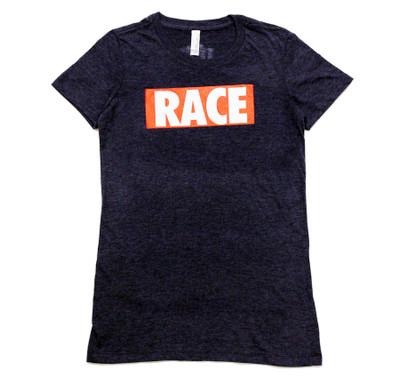 Ladies RACE Shirt | Navy/Red