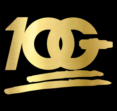 OG 100 Decal   Gold