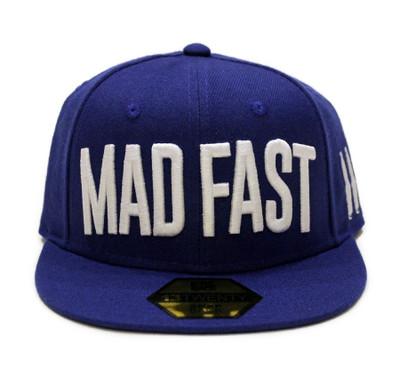 Mad Fast Snapback Hat | Blue