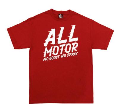 All Motor 4 T-Shirt   Cardinal Red