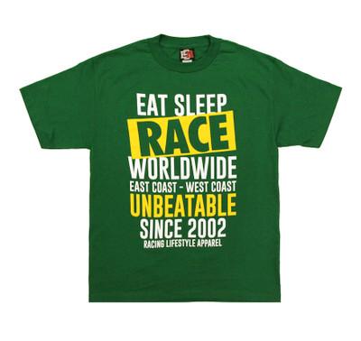 Box Crew T-Shirt   Kelly Green