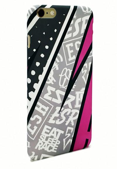 iPhone 6 Plus Case   Pink Rad Pattern