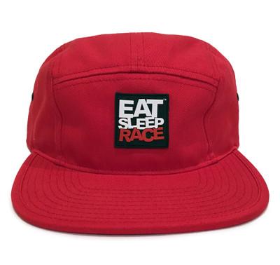Logo 5-Panel Hat | Red