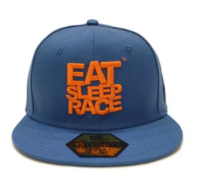 Logo Team Snapback Hat | Blue/Orange