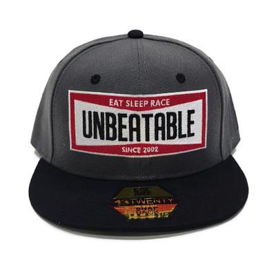 Unbeatable Snapback Hat | Grey/Black