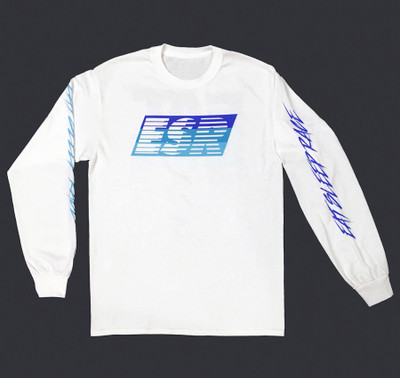 ESR Speedlines Long Sleeve Shirt | White