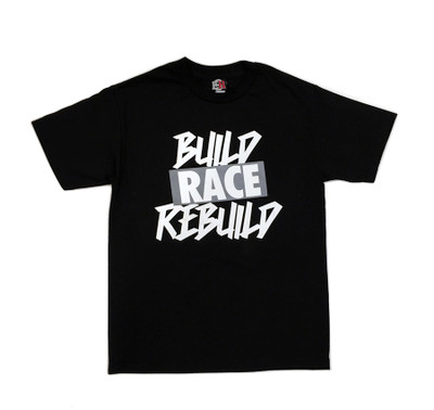 Build Rebuild 2 T-Shirt | Black/Grey