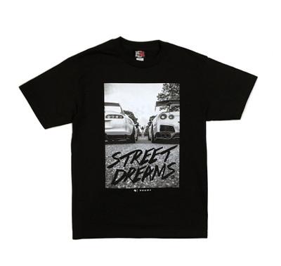 Street Dreams by Zuumy T-Shirt | Black