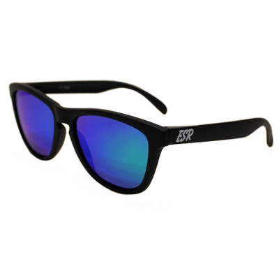 ESR Fastlife Sunglasses | Matte Black/Blue Iridium (UV400) | Pouch