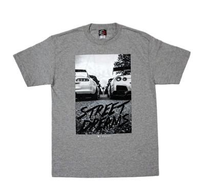 Street Dreams by Zuumy T-Shirt | Grey