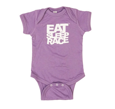 Infant One Piece Logo | Purple