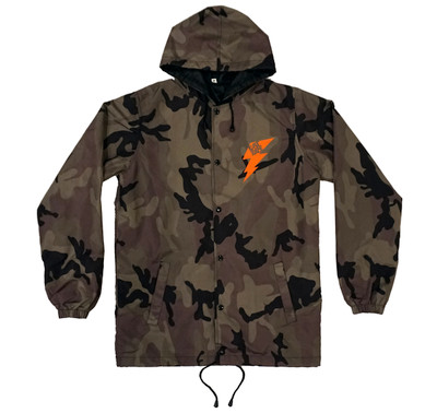 Bolt Windbreaker Jacket | Camo