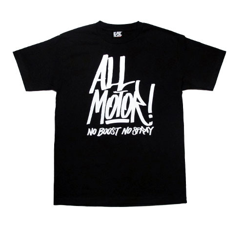 All Motor 3 T-Shirt  | Black