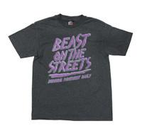Beast on the Street T-Shirt | Grey