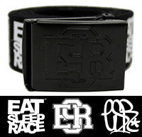 ESR Logo Belt | Black/White