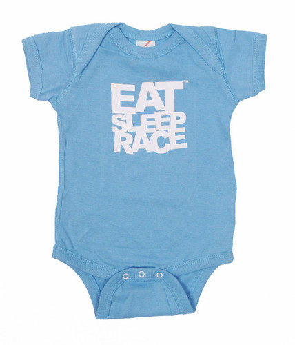 Infant One Piece Logo | Blue